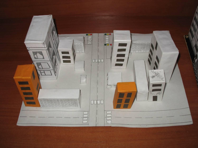 Макет города из бумаги своими руками 91